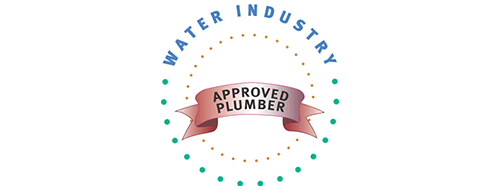 water industry approved plumber logo