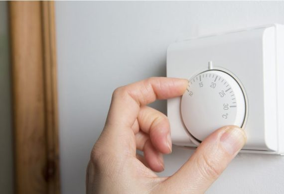 hand turning thermostat
