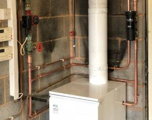 new oil boiler installation