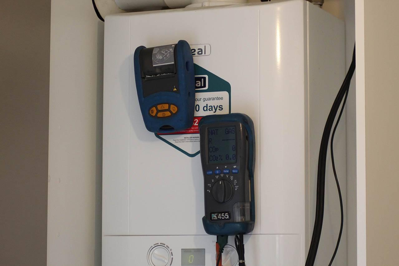 boiler testing equipement